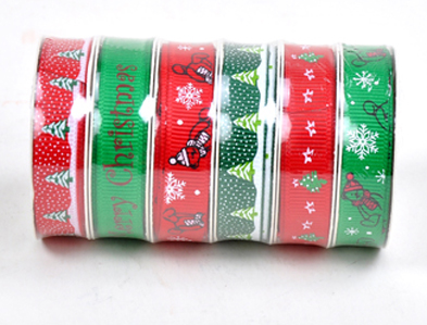 Christmas ribbon  CRA-004
